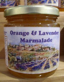 Orange-lavender marmalade recipe