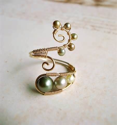 wire rings - Bing Images | Jewelry Making | Pinterest