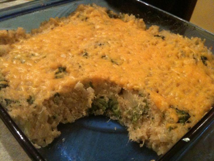 Quinoa, Broccoli, & Cheese Casserole | BigOven – Ingredients: Quinoa ...