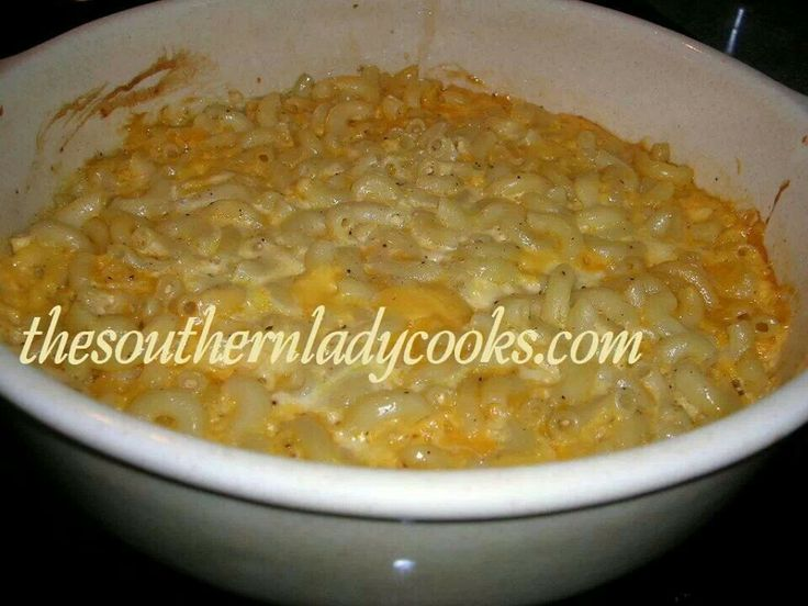 Mac & cheese | CASSEROLE & SIDE DISHES | Pinterest