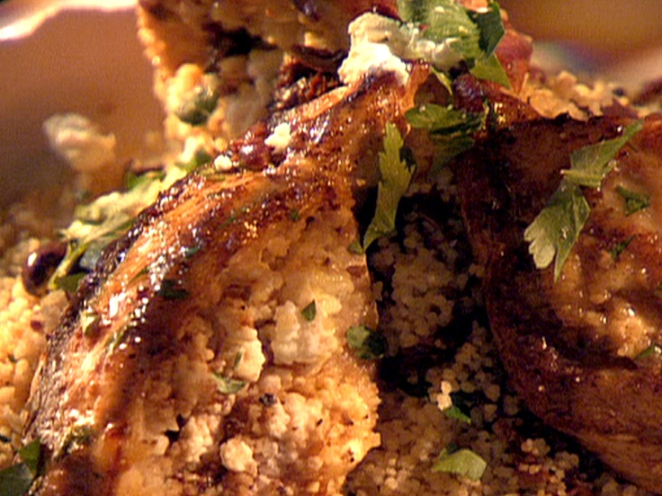 Couscous Stuffed Chicken Breasts Recipe — Dishmaps