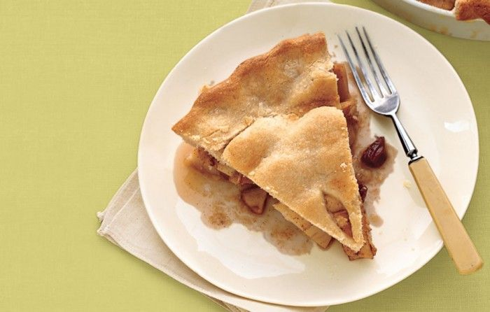 Apple Pie with Whisky-Soaked Cherries - Bon Appétit