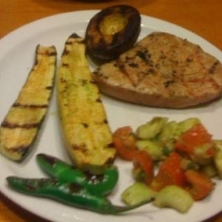 tuna with cucumber salad grilled tuna with cucumber salad tuna grilled ...