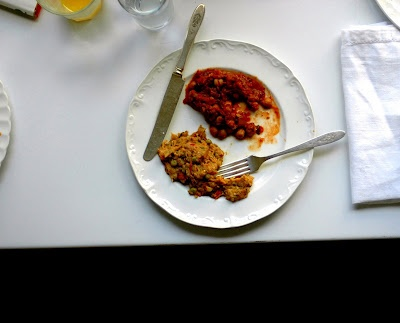 Spiced Eggplant with Peas and Yogurt | Vegetables Vegan / Vegetarian ...