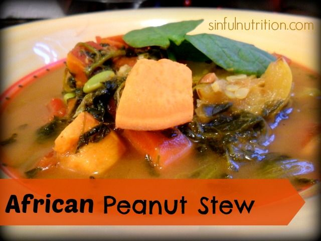 African Peanut Stew: A great dish to warm the body and soul this ...