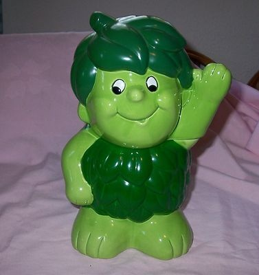 Jolly Green Giant Cookie Jar Sprout   Who Stole the Cookie From the C ...