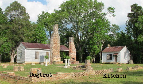 Dog trot architecture google search dog trot pinterest for House plans with separate kitchen