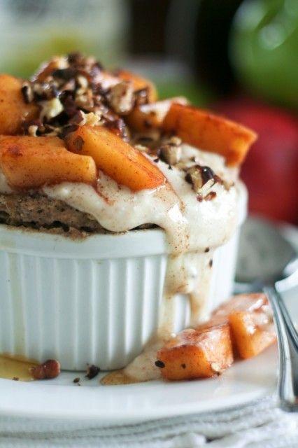 Apple Pecan Instant Buckwheat Bake
