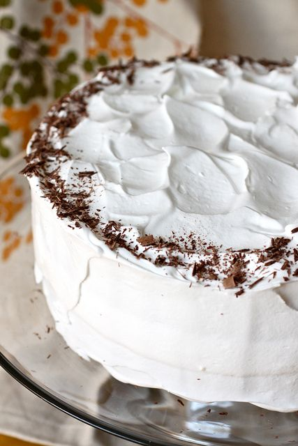 Devil's Food Cake With Seven-Minute Icing And Coconut Recipes ...