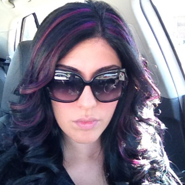 Red Violet Highlights