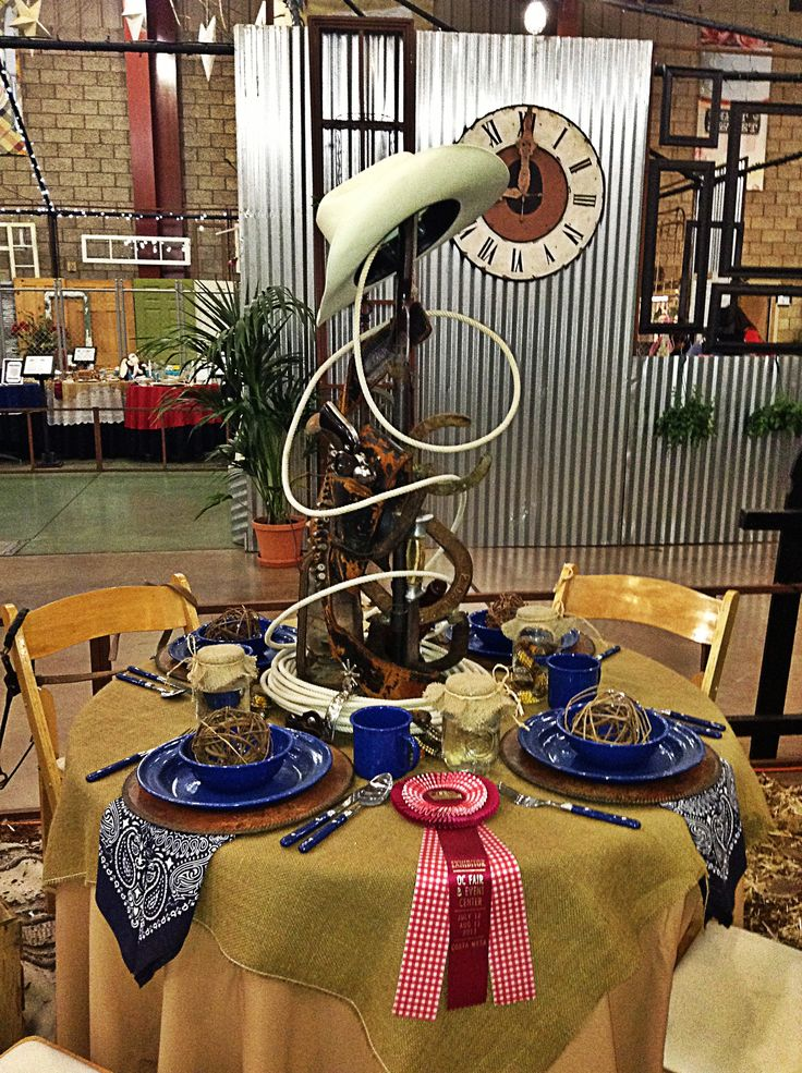 Cowboy western party theme domingo vaquero pinterest for Western decorations for home ideas