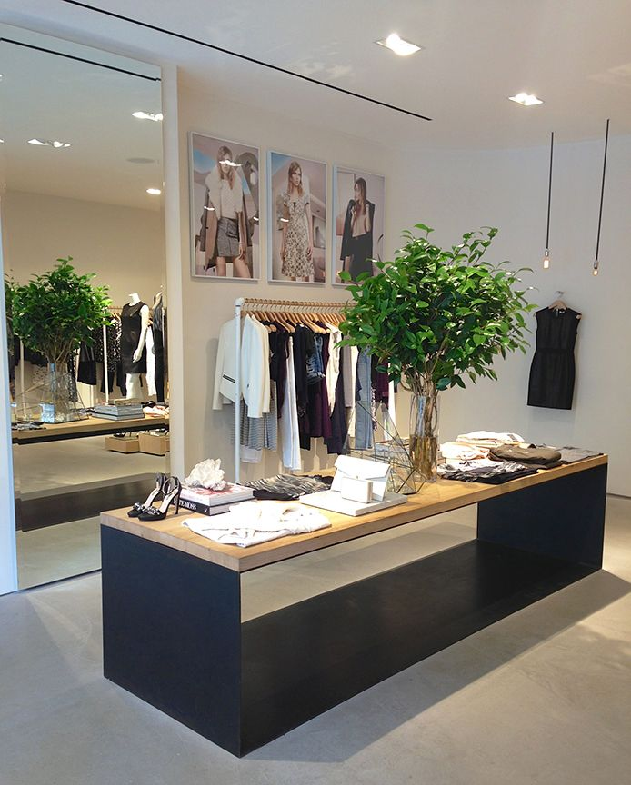 how to build a retail store counter