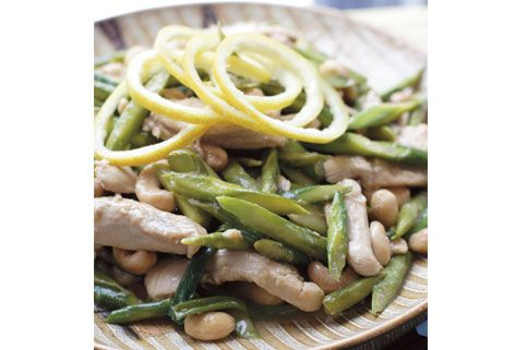Lemon Chicken and Asparagus Stir Fry with Cashew Nuts | Kosher Scoop