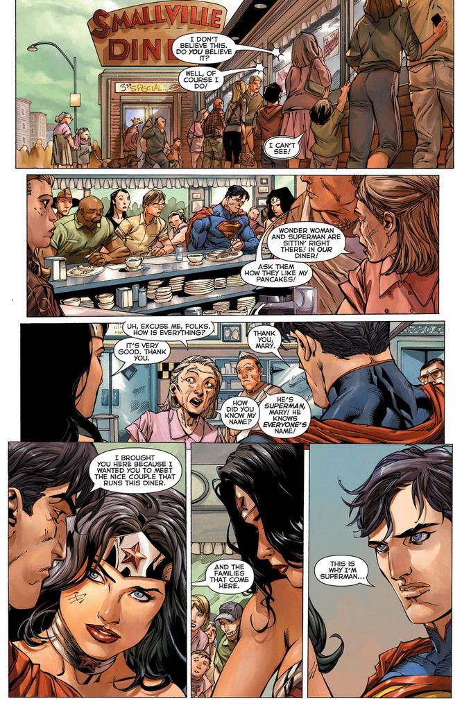 Superman and Wonder Woman's New 52 Romance Erased From ...