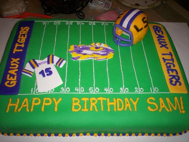 LSU Cake Idea Birthdays Pinterest