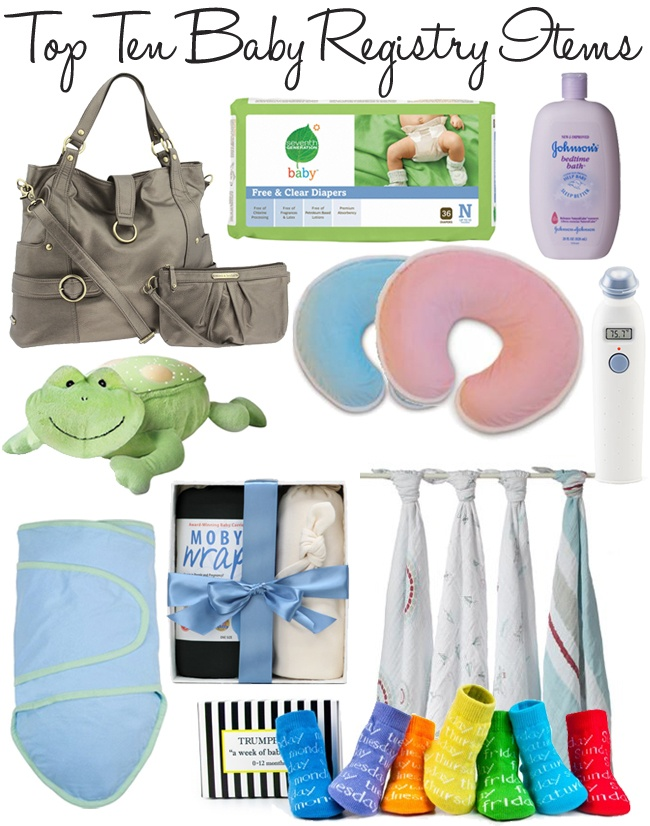top baby registry items for baby shower baby shower pinterest