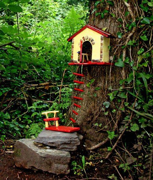 Fairy trails of ireland fairy garden ideas pinterest for Irish fairy garden