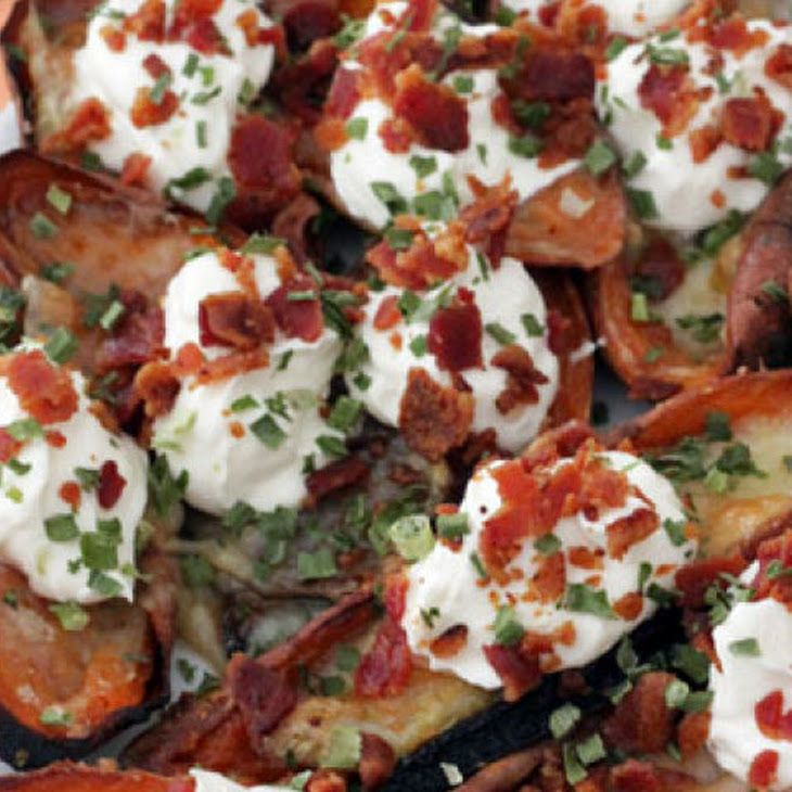 Bacon and Brie Sweet Potato Skins | BACON makes EVERYTHING Better | P ...