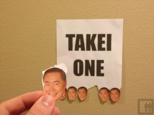 George Takei One!
