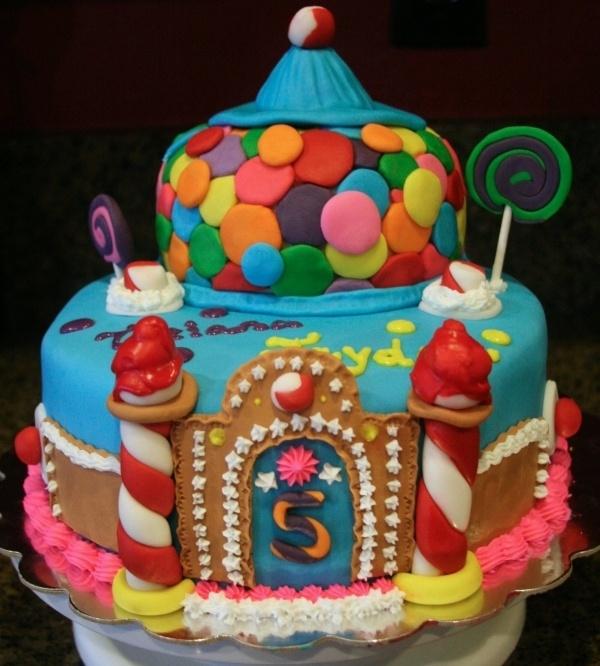 Candyland Cake Lollipop Candyland Sweet Shoppe Theme Party Idea