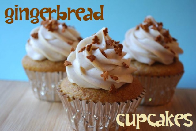 Gingerbread Cupcakes *recipe from Betty Crocker's Big Book of ...