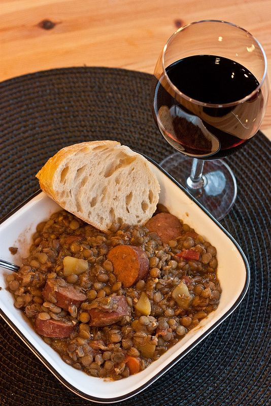 Spanish Lentil Stew-14 | #Foodies# | Pinterest
