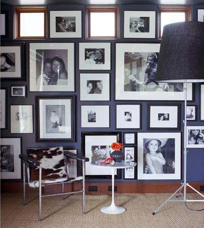 Galleria muro - foto di famiglia