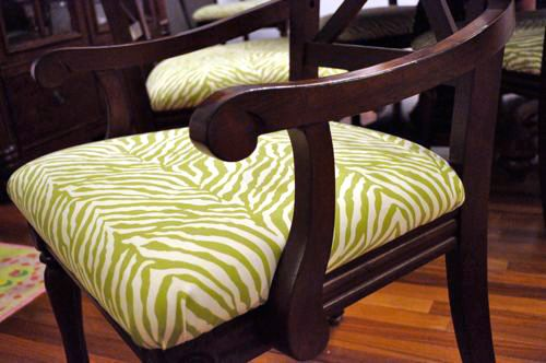 How To Reupholster Dining Room Chairs Craft Ideas Pinterest