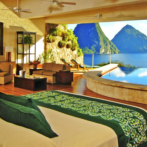 Best Bedroom Ever : Best view from a bedroom ever?  dream house one day  Pinterest