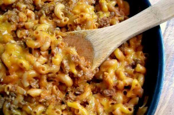 Cheesy Chili Mac Recipe — Dishmaps