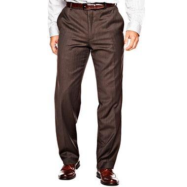JOE Joseph Abboud® Brown Striped Dress Pants - jcpenney