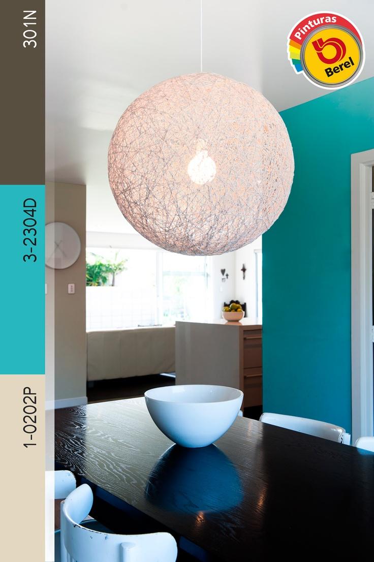 Colores que dan luz y vida coloresparatuvida pinterest for Pintura para sala comedor
