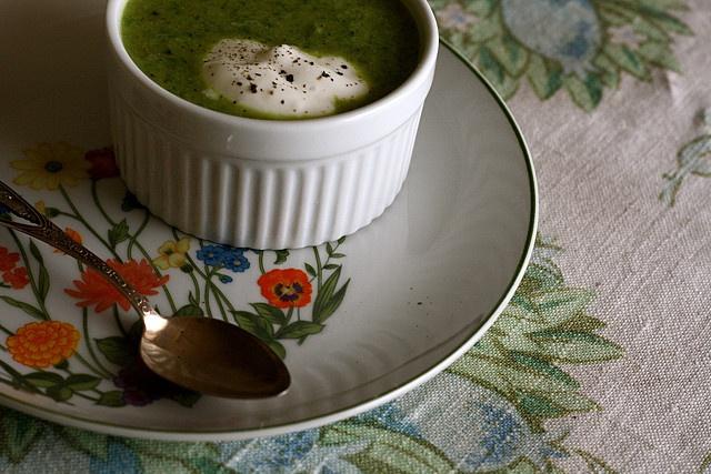 Broccoli and Arugula Soup | Vegan and Vegetarian Recipes | Pinterest