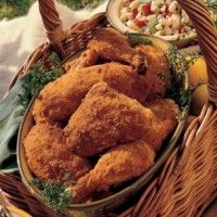 Reduced-Guilt Fried Chicken - Bon Appétit