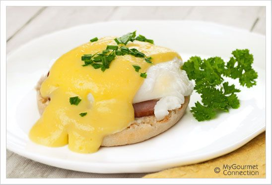 Eggs Benedict from MyGourmetConnection
