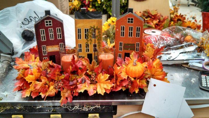 Primitive fall table decor photograph designers fall k for Michaels home decor