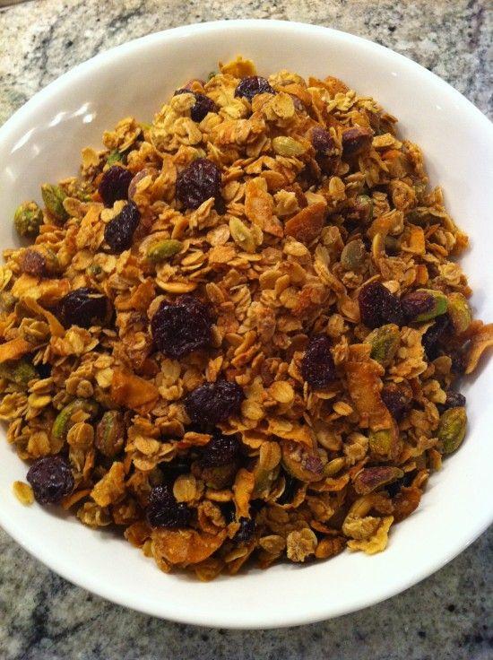 eleven madison park granola (w/dried cherries & black cardamom)