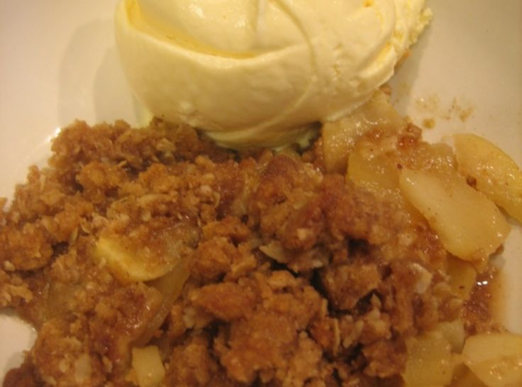 Cinnamon Apple Crisp | Cobblers, Crisps and Crumbles | Pinterest