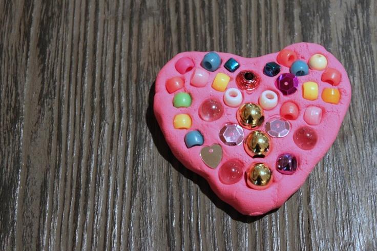 valentine's day mosaic crafts