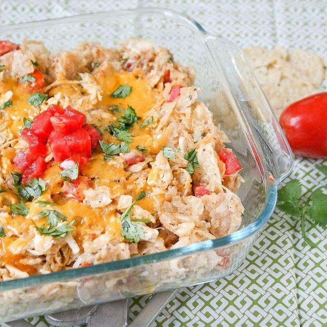 Chicken Tortilla Casserole | Food | Pinterest