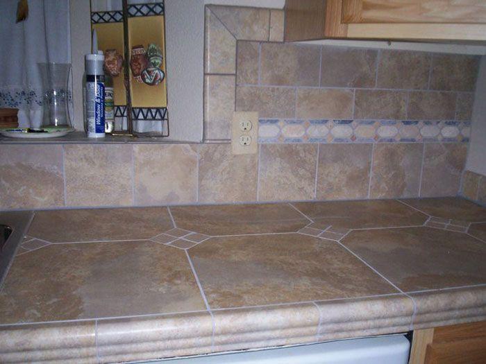 Ceramic Tile Countertops : porcelain tile countertops Counters & Back-splashes ? Ceramic ...