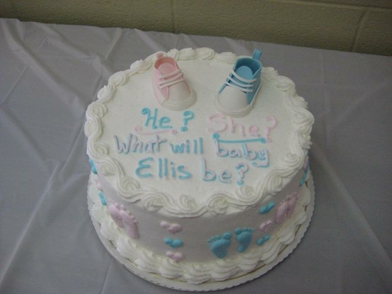baby shower cakes baby shower reveal cake ideas