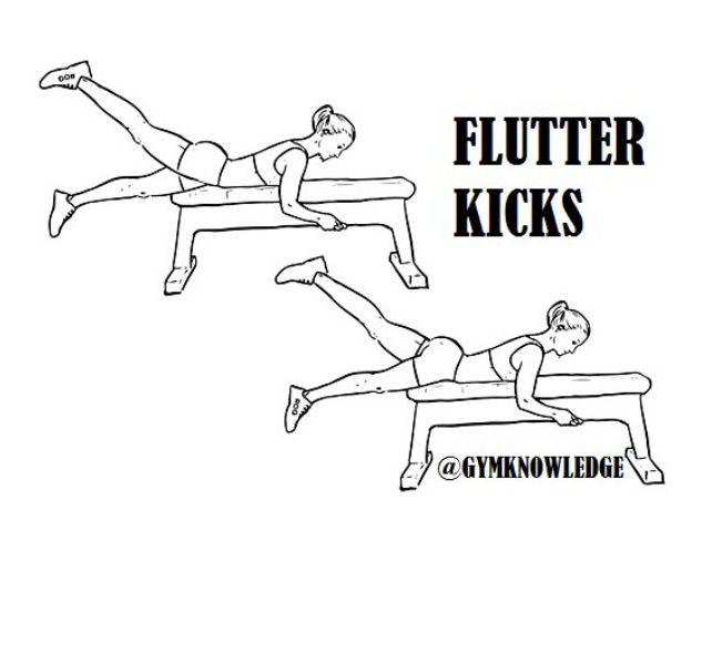 how to teach flutter kick