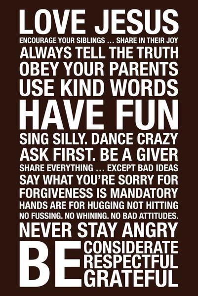 Family rules aliann95