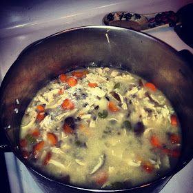Kitchin's Kitchen: Chicken Shiitake and Wild Rice Soup