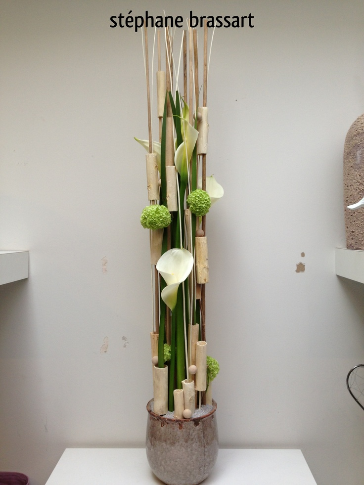 Composition hauteur composition florale pinterest - Composition florale simple ...