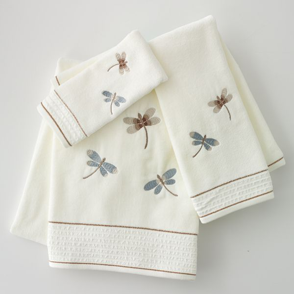 Home classics® shalimar dragonfly bath towels Sold Out thestylecure ...