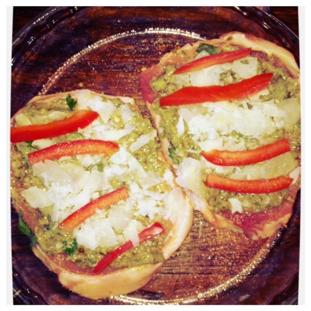 Pesto & Red Pepper Stuffed Pork Chops | Recipes-Meat | Pinterest
