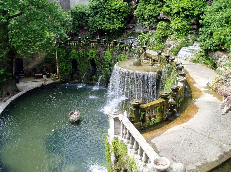 Tivoli Gardens, Italy   ABROAD '13   Pinterest