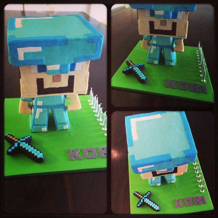 Wiki Minecraft Cake Minecraft Steve Cake